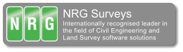 NRG Surveys Internationally recognised leader in the field of Civil Engineering and Land Survey software solutions